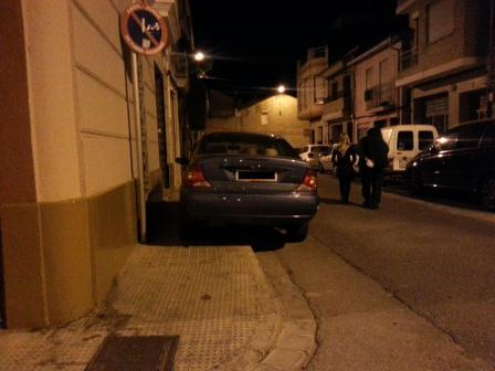 Campaña de movilidad de la Policía Local de Alfafar ante las infracciones que perjudican a los peatones. Foto: EPDA