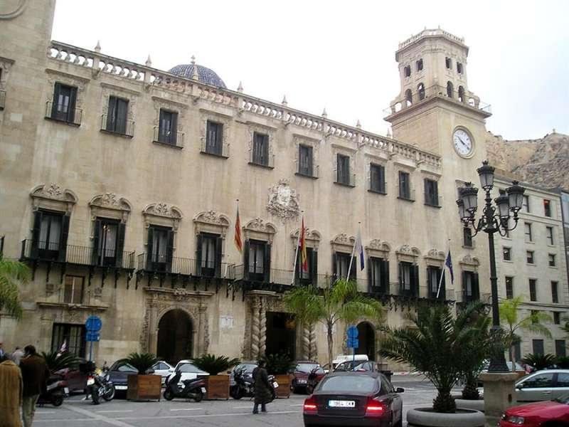Imagen de archivo del Ayuntamiento de Alicante. EPDA