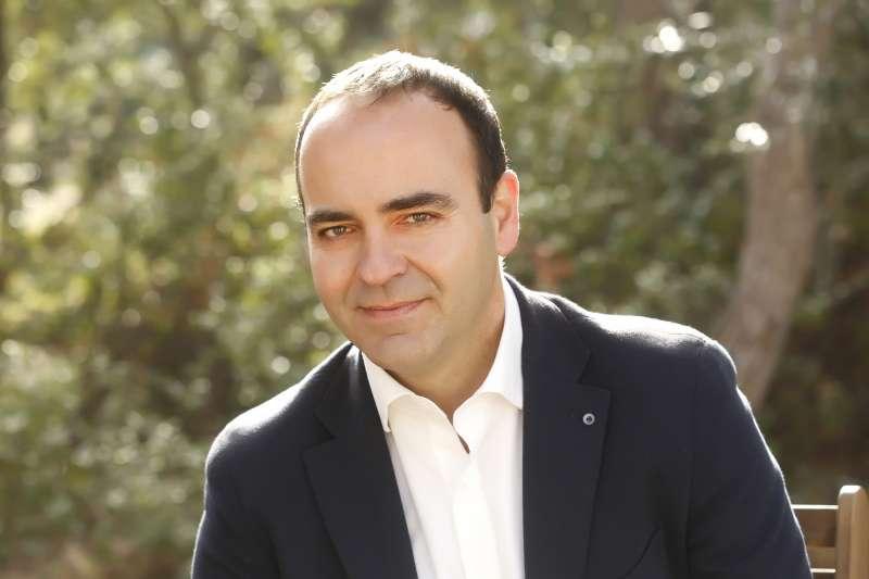 Portavoz de CS, Domingo Vicent, en el Ayuntamiento. / EPDA