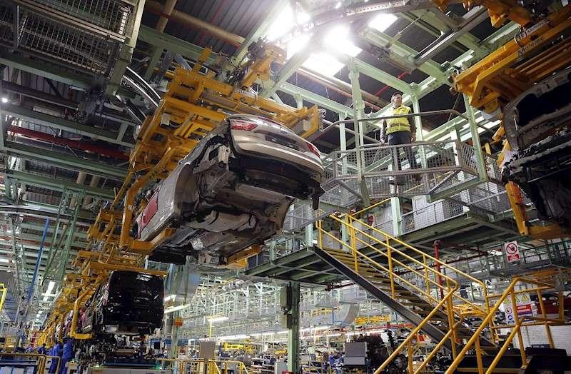 Vista de la planta de Almussafes (Valencia) de Ford España en una imagen de archivo. EFE/Kai Försterling