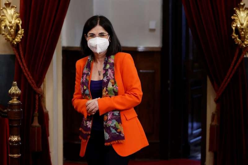 La ministra de Sanidad. EPDA