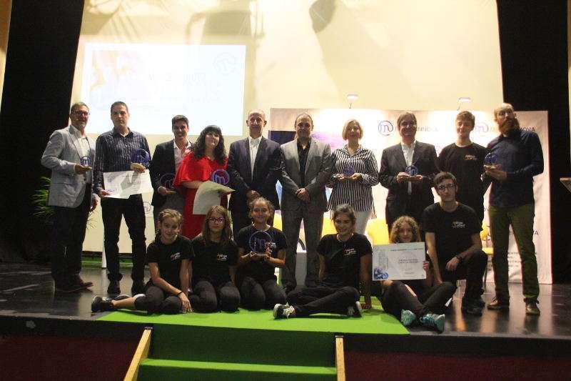 Guanyadors dels Premis Innova de Manises 2017. EPDA