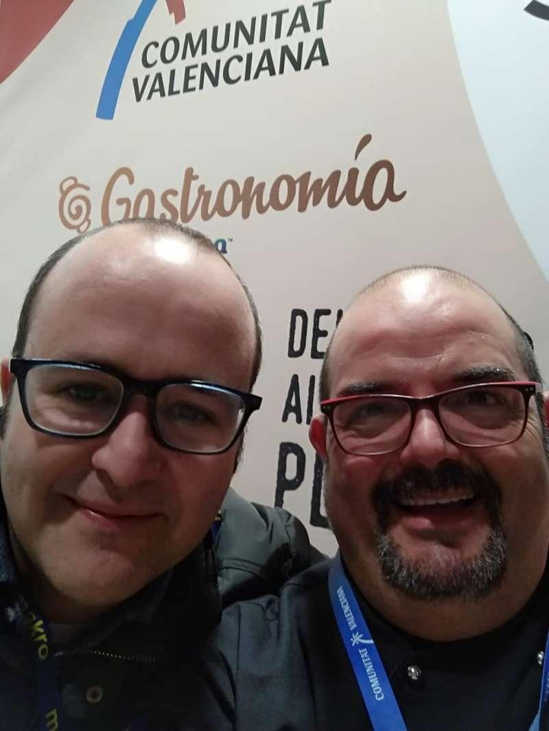 Vicente Patiño y Joan Climent