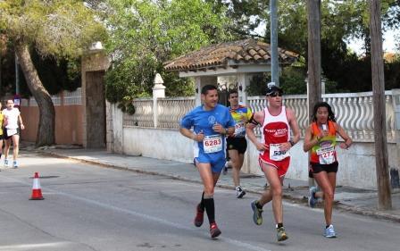 Carrera popular de la Diputación a su paso por Masías. Foto EPDA
