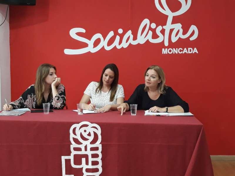 Acto de los socialistas en Moncada. EPDA