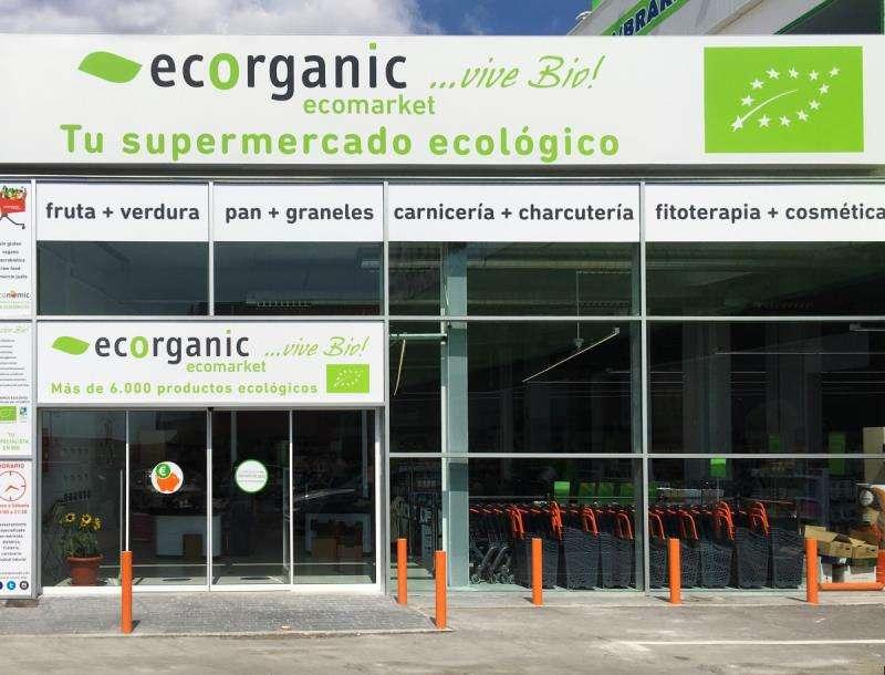 Fachada de un local de Ecorganic, en una imagen de la empresa. EFE