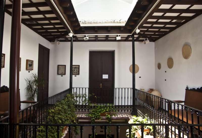 Interior del Museo de Cerámica de Paterna. EPDA
