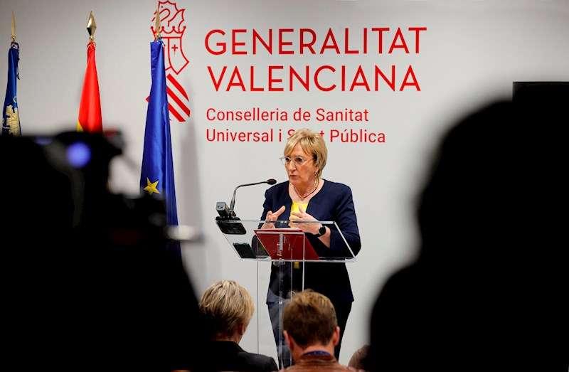 La consellera de Sanidad Universal y Salud Pública, Ana Barceló. EFE