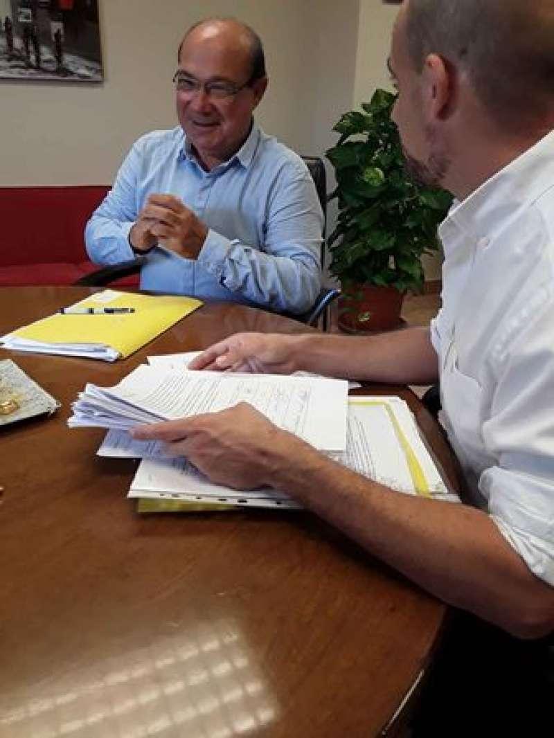 Reunió amb el director territorial. EPDA