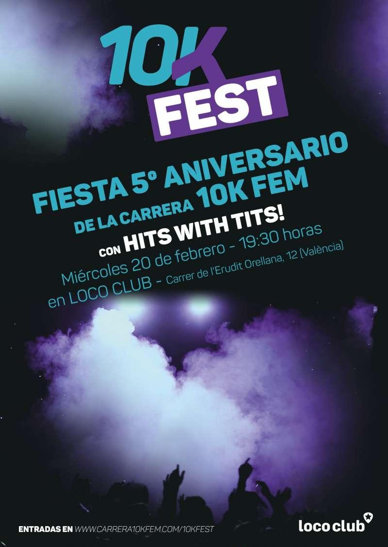 La Carrera 10KFem celebra su 5º aniversario con una fiesta para todas las corredoras de València