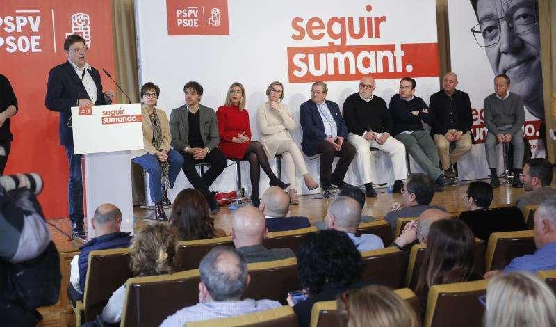 El president de la Generalitat y secretario general del PSPV-PSOE. EFE/PSPV-PSOE