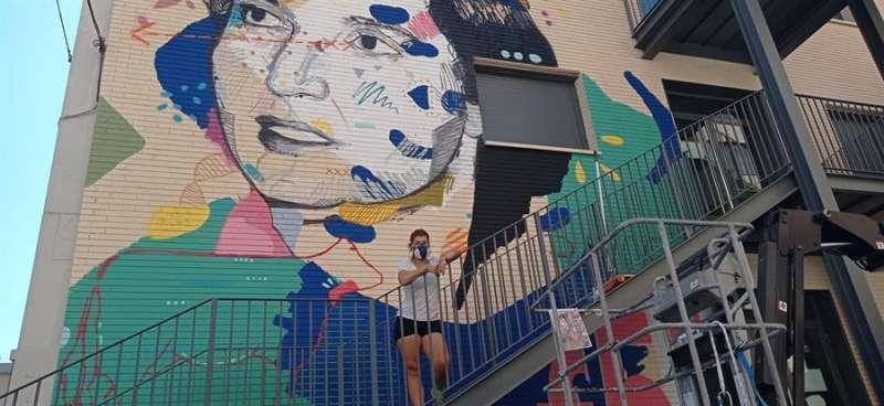 Imagen del mural cedida por el Ayuntamiento de València. Efe