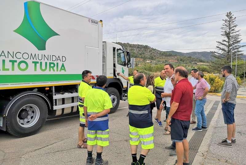 Nuevo camión de recogida de basura. EPDA