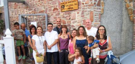 Componentes del  Club de Montaña Castell de Serra. Foto EPDA