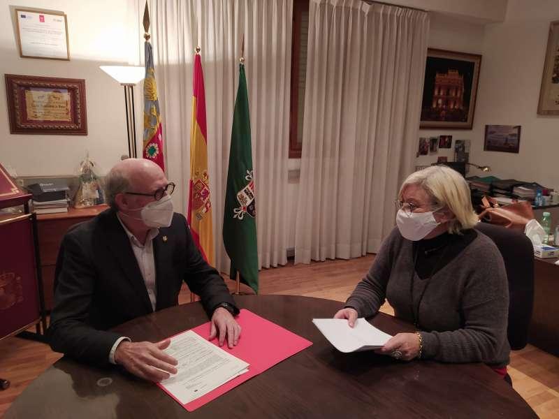 El concejal de Cultura, Manuel Chover. / EPDA