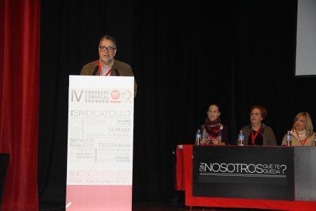 Cuarto Congreso comarcal de FSP UGT en Mislata. EPDA