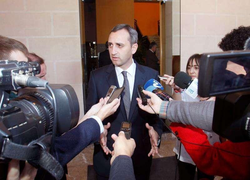 El presidente de la Diputación de Alicante, César Sánchez (PP). EFE/Archivo