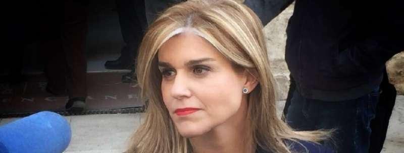 La secretaria general del Partido Popular de la Comunitat Valenciana, Eva Ortiz. EPDA