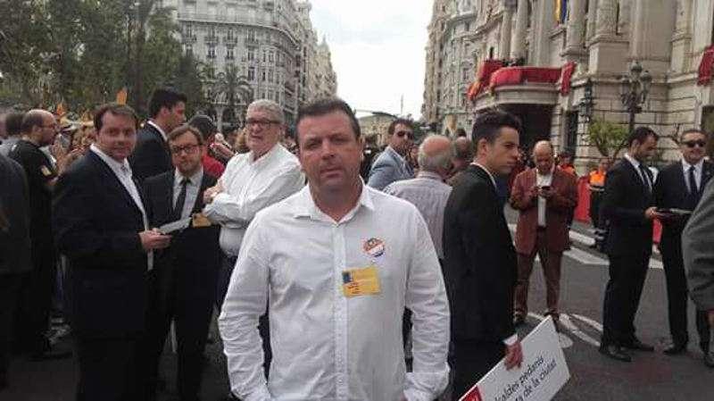 Vicent Iborra, de Som Valencians de Alcàsser. EPDA