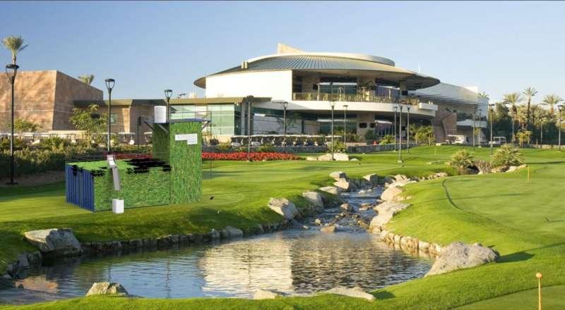 Golf resort con depuradora