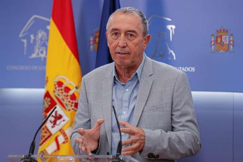 El diputado de Compromís Joan Baldoví, en una imagen reciente. EFE