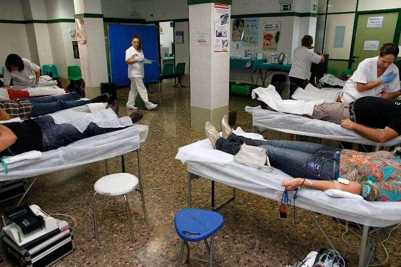 Donación de sangre en Puçol. EPDA