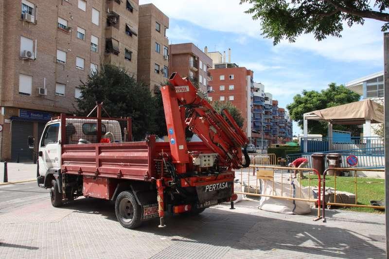 Obras en Alaquàs este verano. EPDA