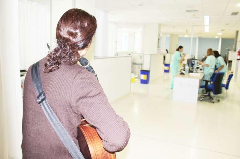 Actuación en el Hospital de Día.