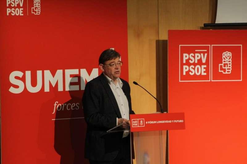 Puig en el acto celebrado en Alicante. EPDA