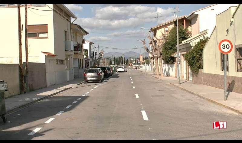 Apertura de la calle de La Huerta