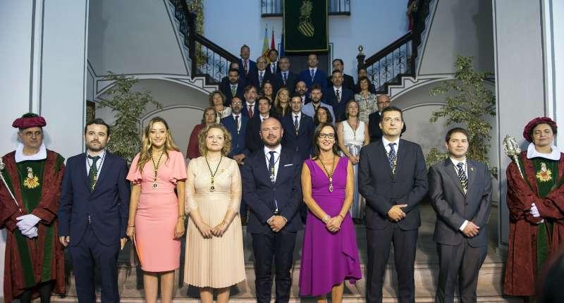 Toma de posesión de la corporación de Diputación de València. EFE