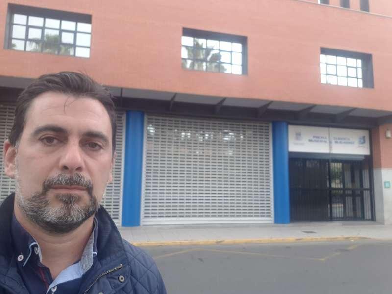 El portavoz de Ciudadanos Toni Subiela. EPDA