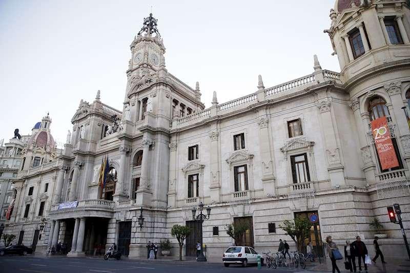 El Ayuntamiento de València. EFE/Archivo
