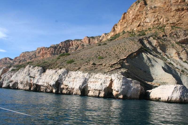 El parc natural de Serra Gelada d