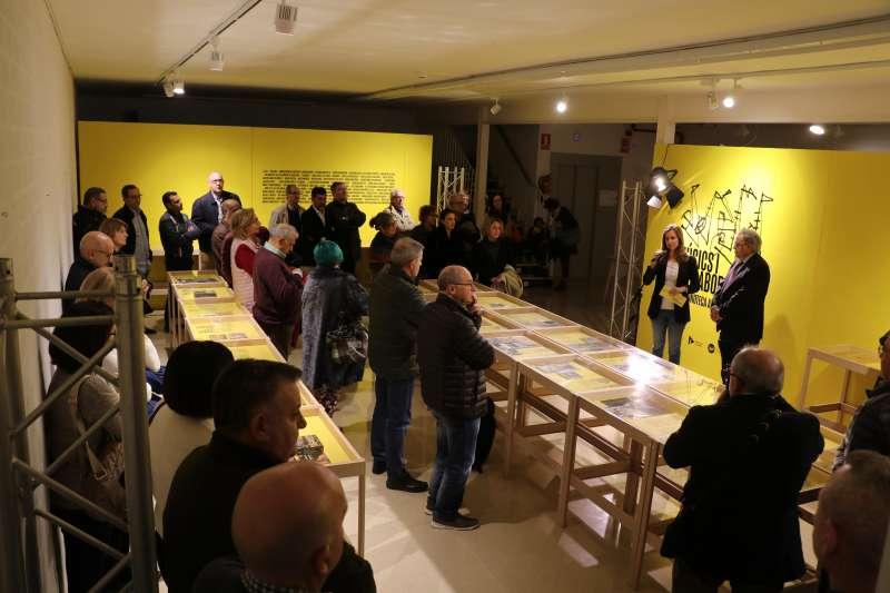 Inauguración de la exposición de José Luis Alabarta. EPDA