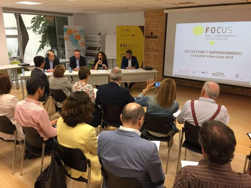Reunión del Comité de Programación del Focus Pyme y Emprendimiento Comunitat Valenciana 2018.
