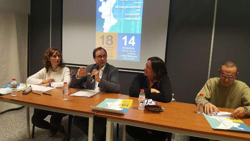 El conseller de Hacienda y Modelo Económico, Vicent Soler, ha participado en Llíria en un encuentro comarcal . EPDA