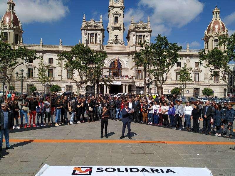 La Plataforma del Tercer Sector de la Comunitat y la Coordinadora Valenciana de ONGD, animando animado este lunes a la ciudadanía a ser contribuyentes