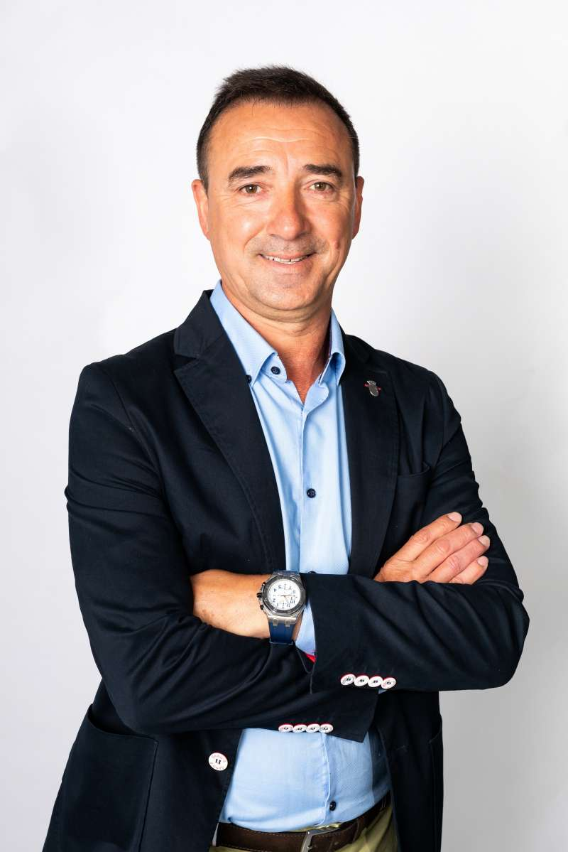 Robert Raga, alcalde de Ribarroja. -EPDA
