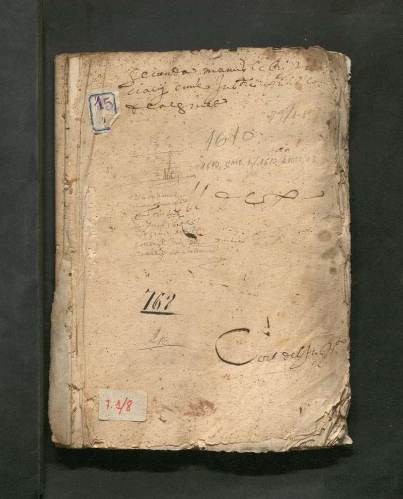 Uno de los volúmenes digitalizados