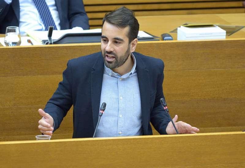 El secretario de Organización del PSPV-PSOE, Jose Muñoz. EPDA