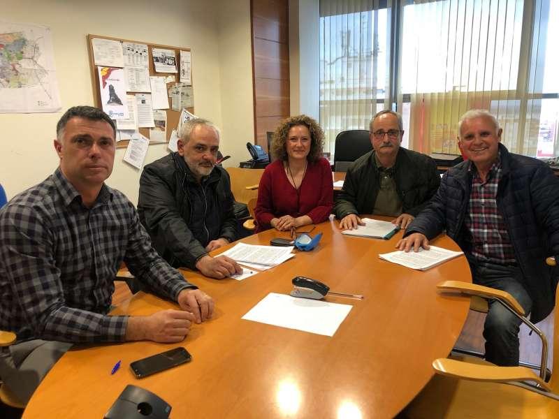 Reunión de Amparo Folgado con los representantes de los barrios