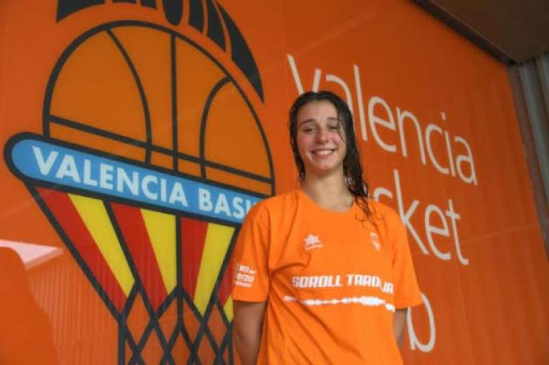 Raquel Carrera. Foto Valencia Basket