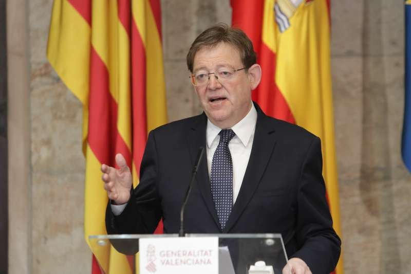 Ximo Puig, presidente de la Generalitat Valenciana. EFE