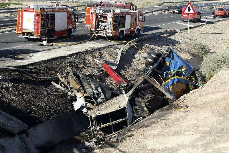 Imagen de un vehículo involucrado en un accidente de tráfico. EFE/Archivo