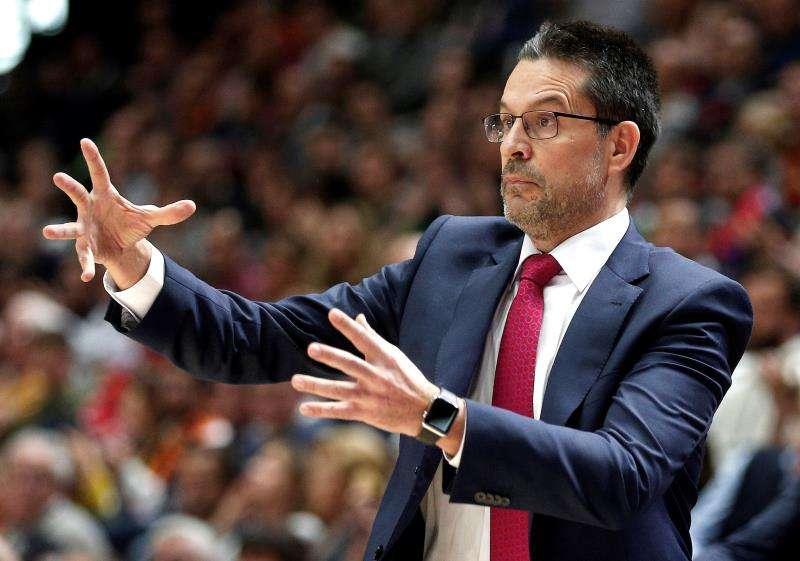 El Valencia Basket vuelve a encontrase con el que fuera su técnico, Pedro Martínez. EFE/Archivo