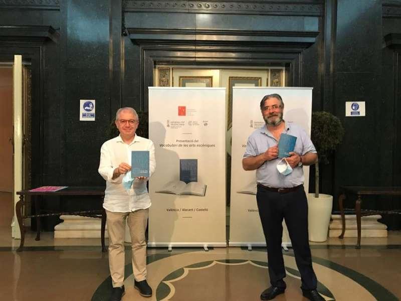 Imagen facilitada por la Generalitat de la presentación del