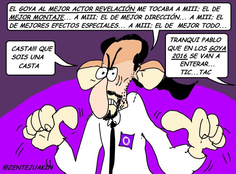 Viñeta de Pablo Iglesias.