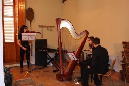 Concierto de Música de Cámara ofrecido por los alumnos del profesor Enrique Llorens. Foto: EPDA.