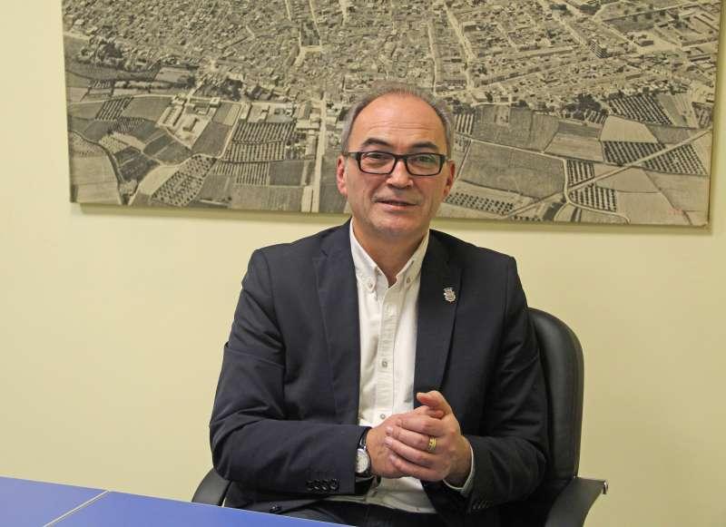 El Alcalde de Benaguasil, Ximo Segarra